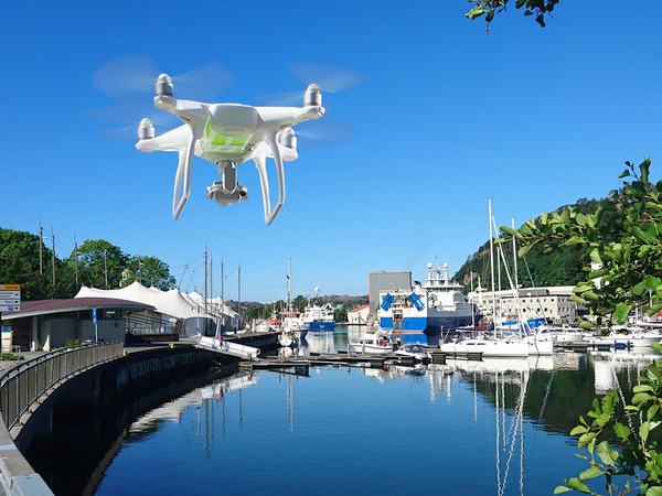 Drone over Egersund