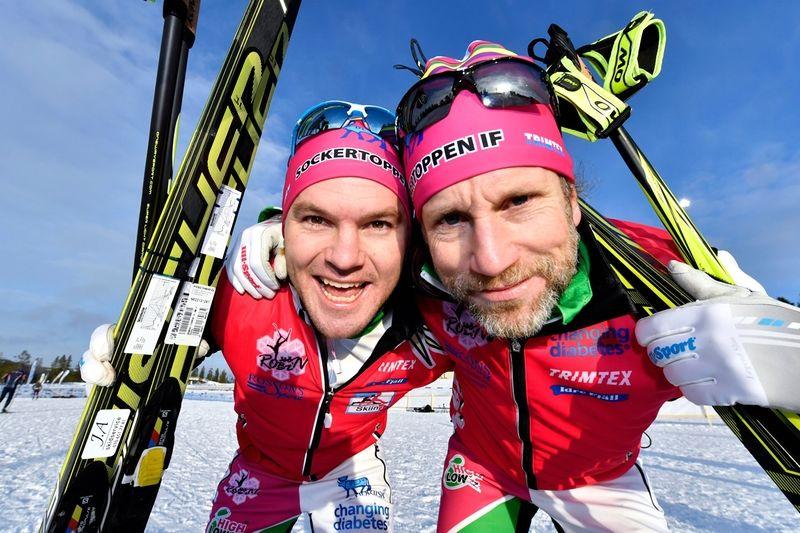 Robin Bryntesson utmanar Peter Jihde på Vasaloppet. Följ duon i serien High & Low. FOTO: Bryntes.se.