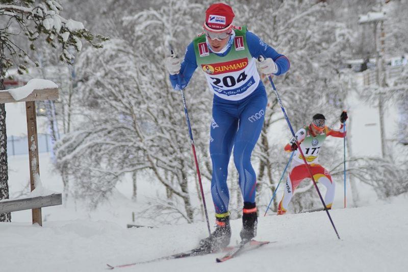 Martin Johansson vann skejtloppet i Intersport Cup i Idre i helgen och åkte in sig i landslagstruppen till Lillehammer. FOTO: Johan Trygg/Längd.se.