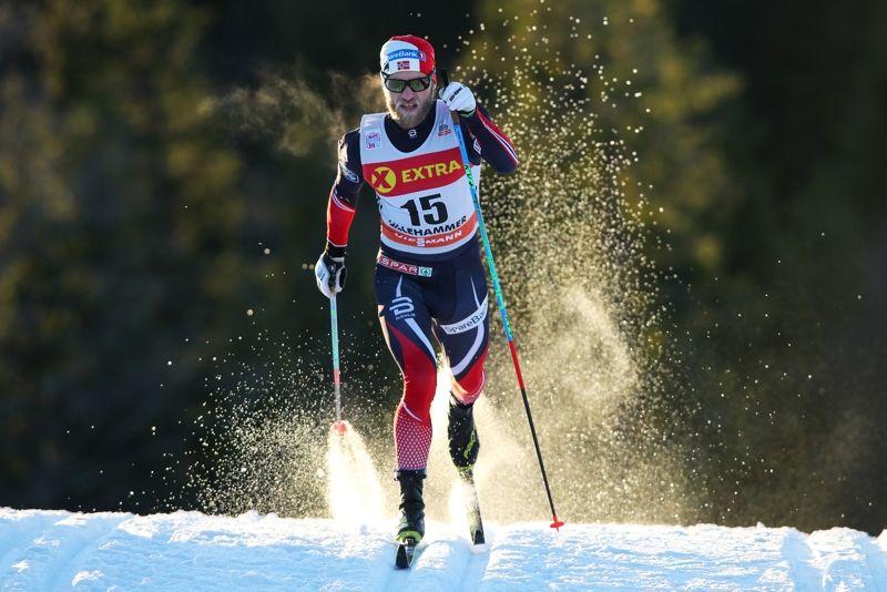 Martin Johnsrud Sundby var starkast på jaktstarten i Lillehammer. FOTO: GEPA pictures/ Matic Klansek © Bildbyrån.