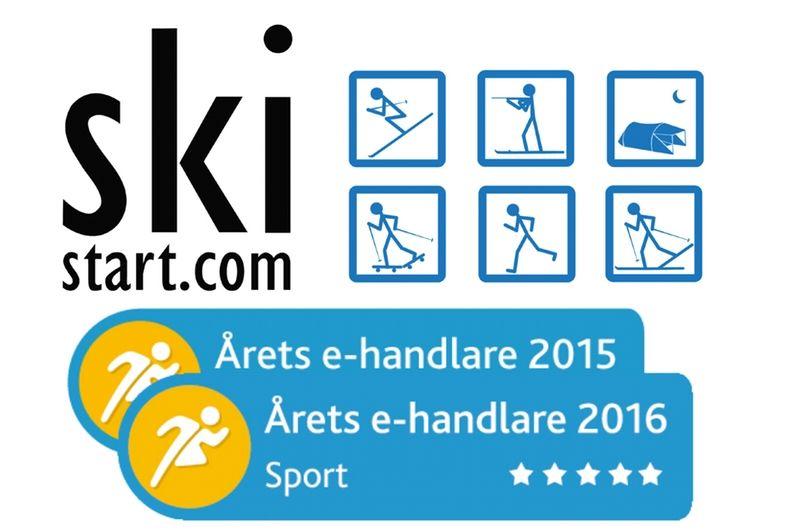 Skistart från Älvdalen har för andra året i rad fått utmärkelsen Årets e-handlare inom Sport.