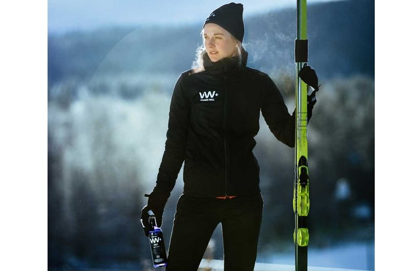 Stina Nilsson följer i Zlatan Ibrahimovic spår och blir ambassadör för Vitamin Well. FOTO: Vitamin Well.