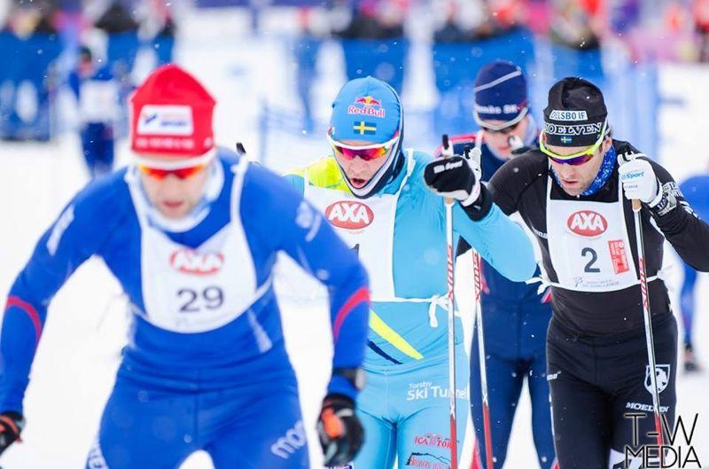 8 januari är det dags för AXA Ski Marathon. Loppet har rekordintresse meddelar arrangören. FOTO: T-W Media.