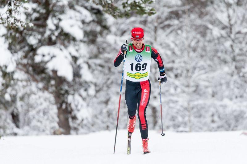 Johan Olsson åker Bruksvallarna Nordic Ski Marathon i morgon lördag. FOTO: Jocke Lagercrantz.