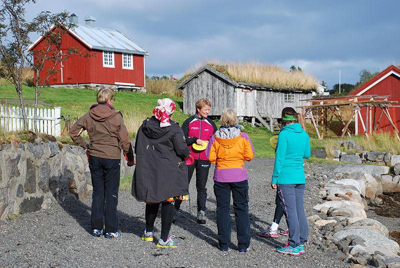 Deltakere på tur- og treningskompiskurs.