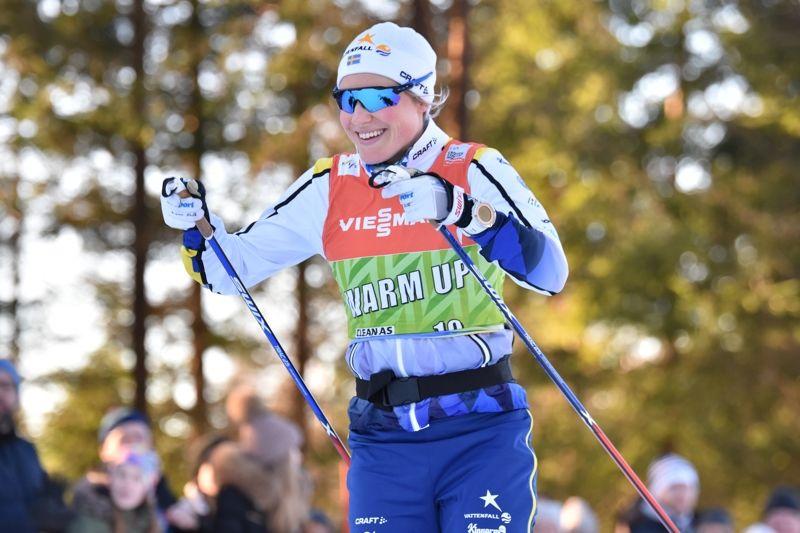 Hanna Falk har fått förtroendet att avsluta för Sverige på hemmaplan i Ulricehamn. FOTO: Rolf Zetterberg.