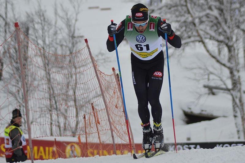Adam Steen tog hem Långloppscupen - Skistart.com Ski Challenge  efter många stabila insatser i vinter. FOTO: Johan Trygg/Längd.se.