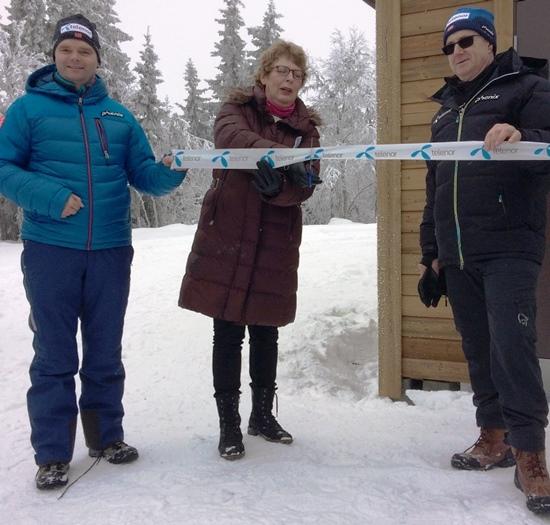 Åpning mast Svarthaugen