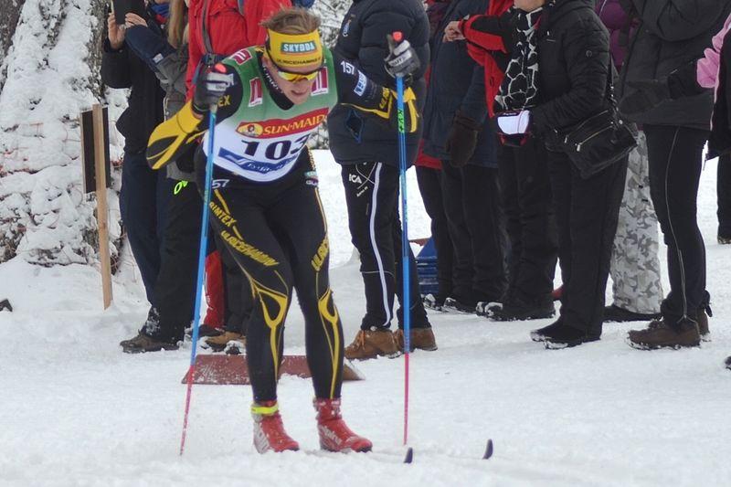 Andreas Svensson sprang till seger på Västgötaloppet Trail. På bilden ser vi Andreas i farten på skidor i Bruksvallarna häromåret. FOTO: Johan Trygg/Längd.se.