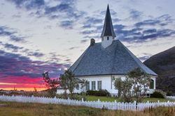 Hasvik kirke - copyright Anne Olsen-Ryum
