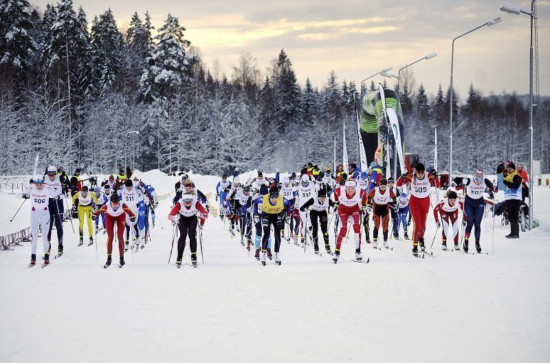I helgen blir det intensivt tävlande i Folksam cup-finalen vid Torsby Sportcenter. FOTO: Aron Eriksson.
