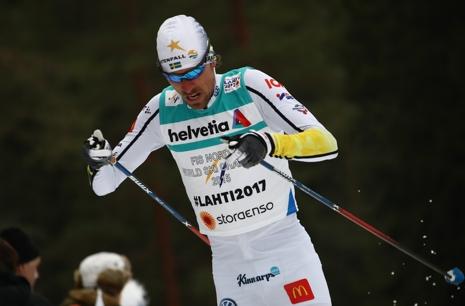 Johan Olsson slutade åtta och bäste svensk. FOTO: GEPA pictures/Christopher Kelemen © Bildbyrån.
