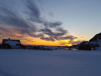 Solnedgang sett fra Søberg