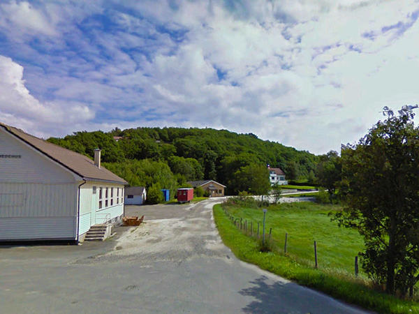 Kvidingveien på Hellvik