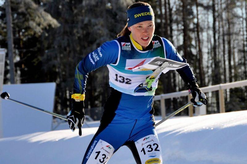 Tove Alexandersson vann världscupsprinten i USA. FOTO: Nordenmark Adventure.
