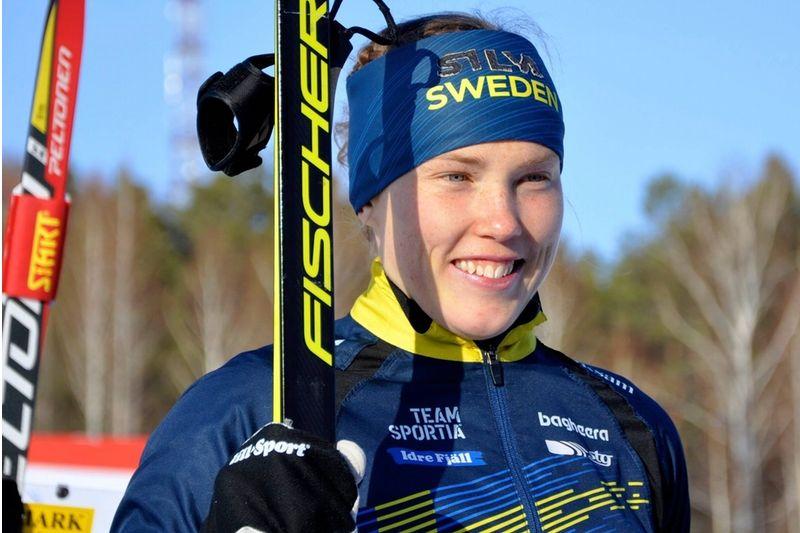 Tove Alexandersson tog idag tredje guldet på tre dagar vid VM i skidorientering i Ryssland. FOTO: Nordenmark Adventure.