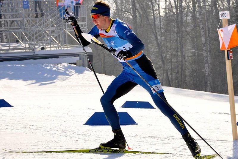 Erik Rost tog silver, men vara bara 15 sekunder från guld, på skidorienterings-VM:s medeldistans. FOTO: Nordenmark Adventure.