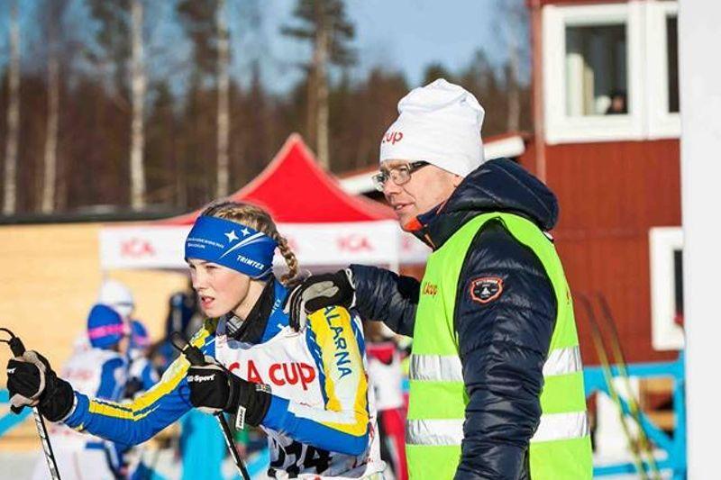 Dalarna toppar Ica-cup i Bollnäs efter första tävlingsdagen i går. FOTO: Björn Lans.