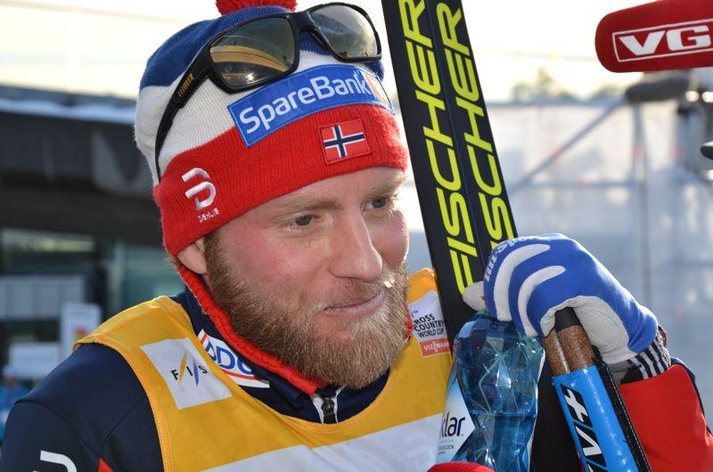 Martin Johnsrud Sundby väljer Birkenbeinerrennet istället för världscupavslutningen i Kanada. FOTO: Rolf Zetterberg.