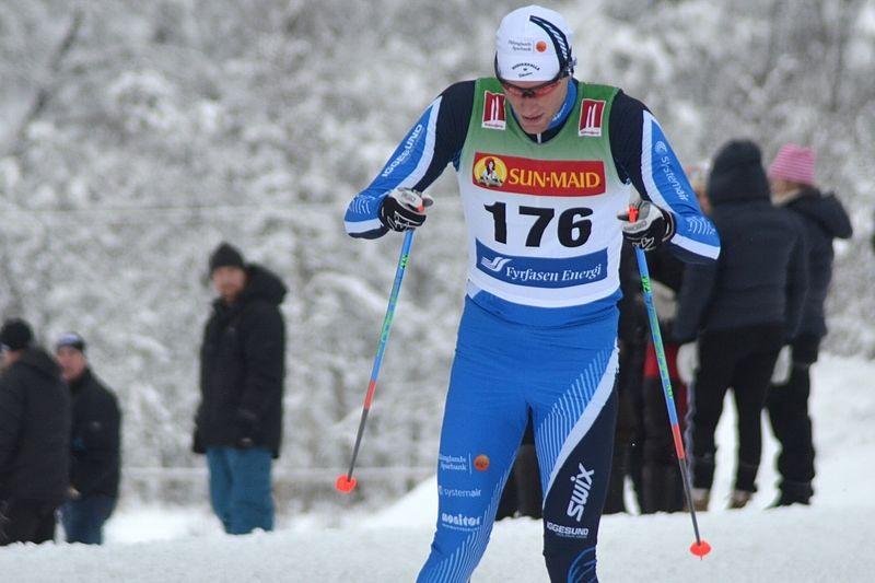 Daniel Rickardsson förstärker Team Tynell under Birkenbeinerrennet. Daniel kommer dock att åka i sin klubbdräkt från Hudiksvalls IF. FOTO: Johan Trygg/Längd.se.