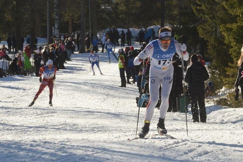 Anders Svanebo överraskade med att ta SM-guld på femmilen i Umeå. FOTO: Arrangören.