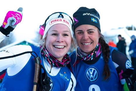 Jennie Öberg och Anna Haag. FOTO: Yngve Johansson, Imega Promotion.