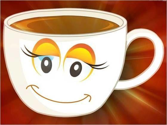 Blid kaffekopp.