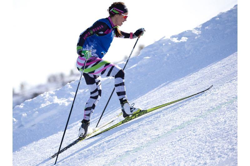 Anna Haag klättrar mot seger i Dundret Hill Climb och mot totalseger i Volkswagen Tour. FOTO: Yngve Johansson, Imega Promotion.