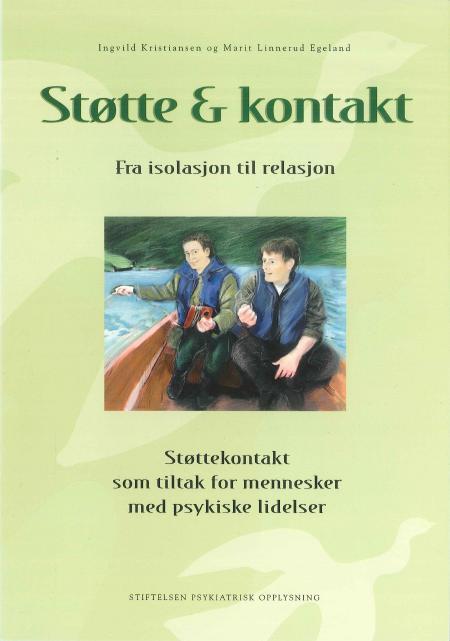 Omslaget til boka Støtte og kontakt