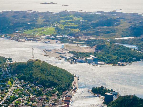 Pelagia i Egersund havn