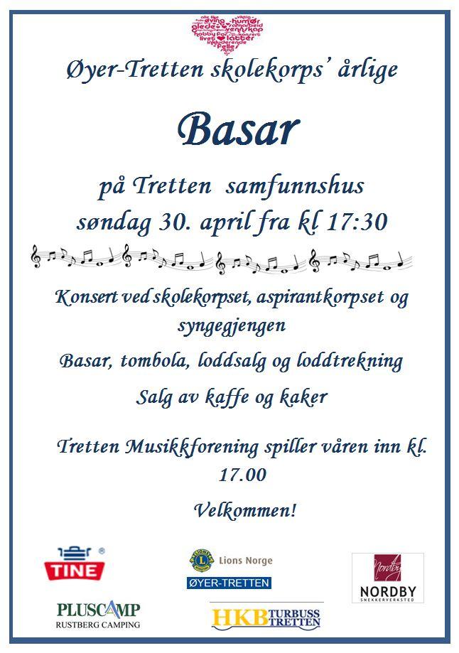 Plakat Basar skolekorps