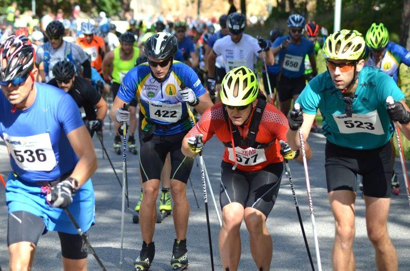 I sommar blir det möjligt att seeda sig till Vasaloppet på fyra rullskidtävlingar: Alliansloppet, Bessemerrullen, Nybrorullen och UVK-rullen. Bilder är från Alliansloppet 2016. FOTO: Johan Trygg/Längd.se.