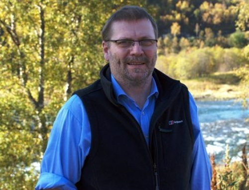 Ordfører i Sørfold Lars Kr. Evjenth