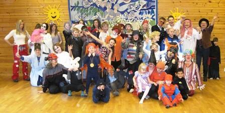 Solfest med alle barn og ansatte, Leirfjorden og Mørsvik