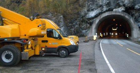 Arbeid i tunnel