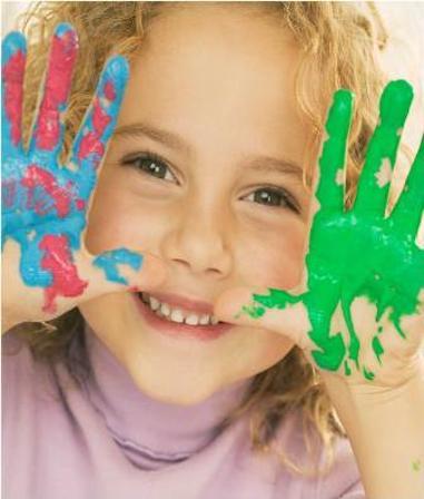 Illustrasjonsfoto av jente