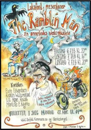 Plakat til The Ramblin' man