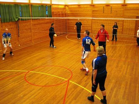 Volleyballturnering i Leirfjorden