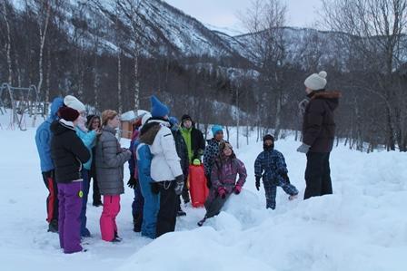 Åpning av friluftslivets år ved Leirfjorden skole
