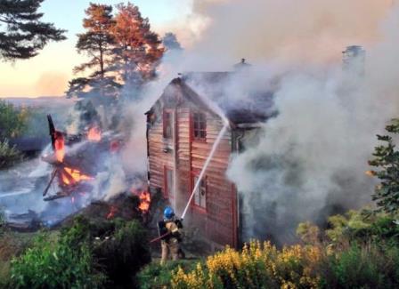 Brann i verneverdig bygning