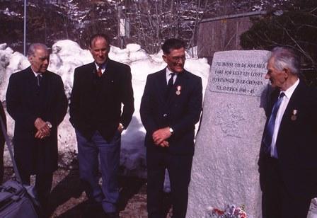 Avduking minnestøtte i 1995