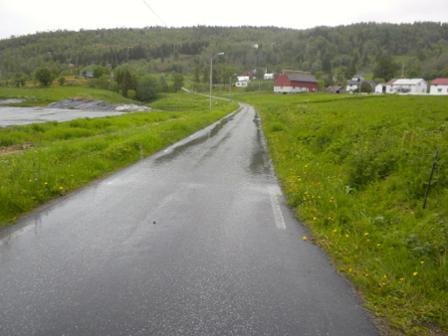 Fylkesvei 612 på Strøksnes