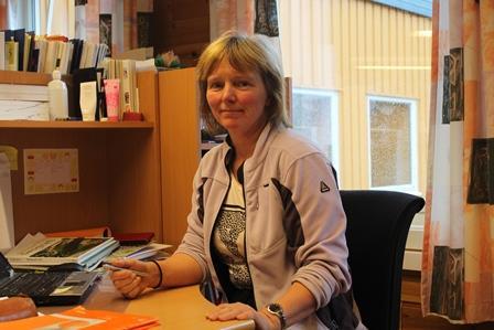 Randi Pedersen er lærer i voksenopplæringen