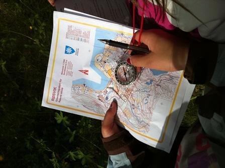Bruk av kart og kompass