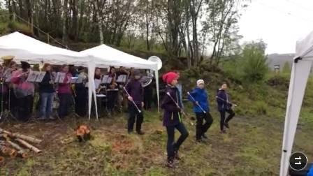 Korpskonsert i friluft, Røsvik kystfort