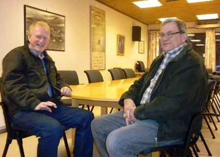 F.v. Jan Arne Johansen og Hans Petter Hellarvik