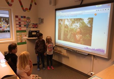 Regnskogen engasjererer elevene
