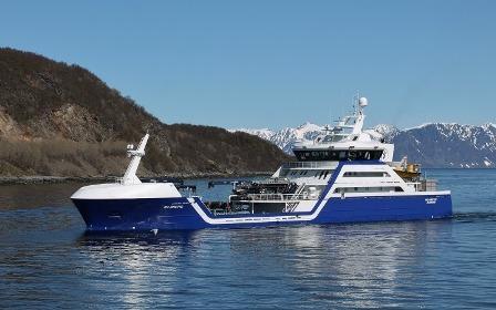 Brønnbåten Ro Arctic