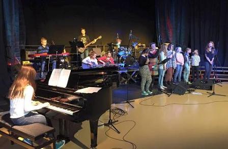 Samspillkonsert i kulturskolen