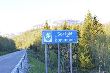 Skilt Sørfold kommune
